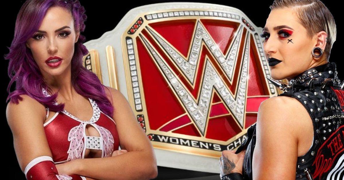 WWE Raw Women's Championship Rhea Ripley Peyton Royce