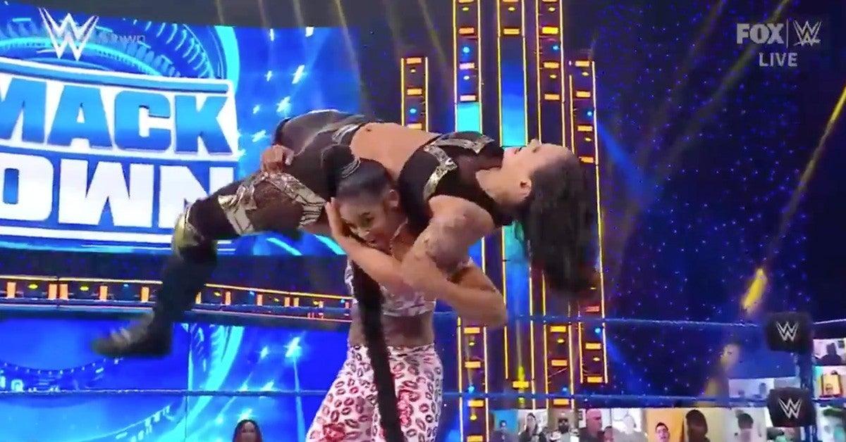 WWE-SmackDown-Bianca-Belair-Shayna-Baszler