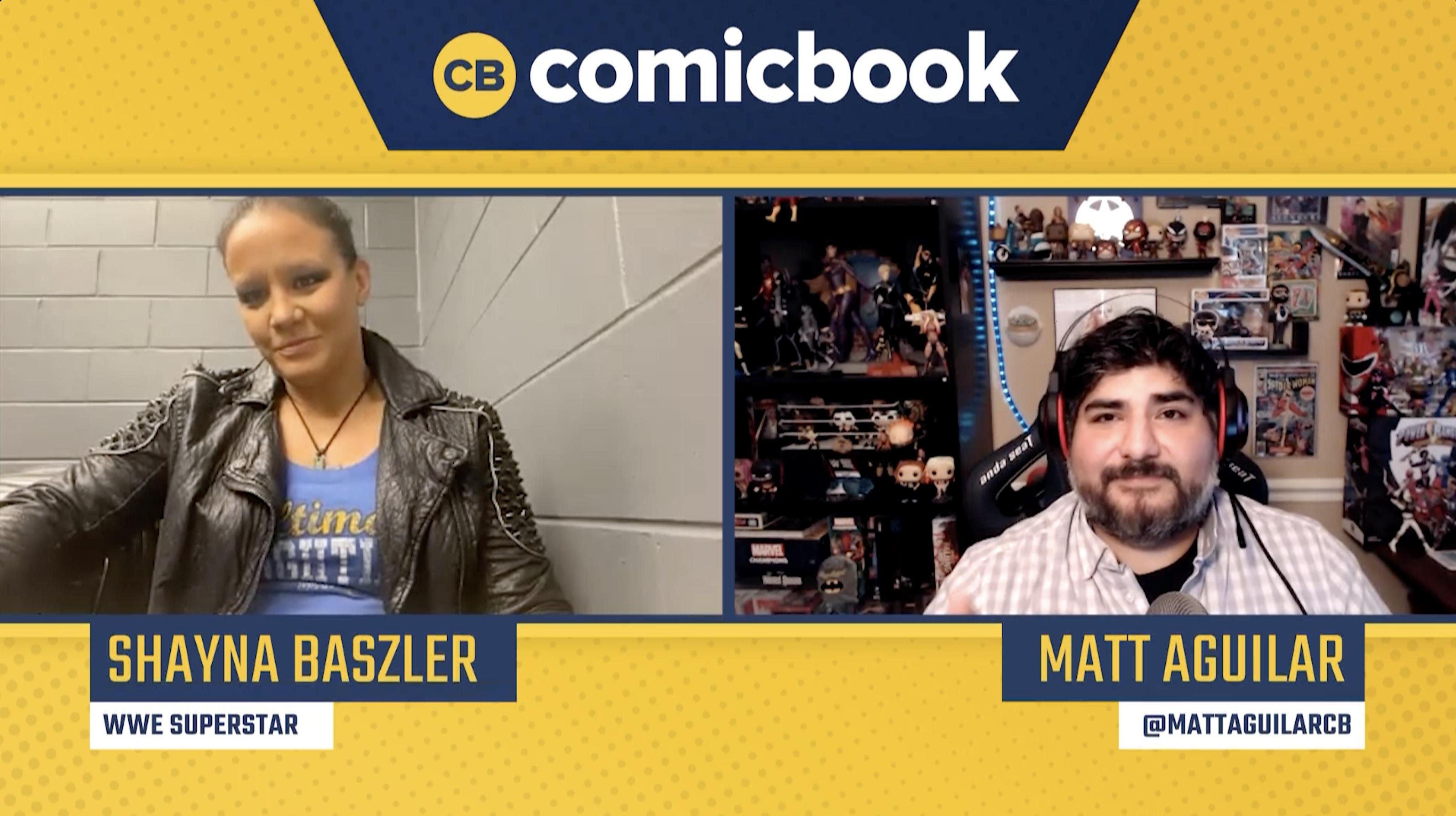 WWE Superstar Shayna Baszler - Exclusive Comicbook.com Interview