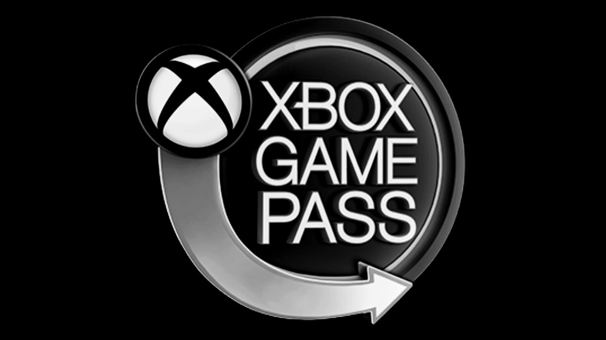 xbox game pass white and black