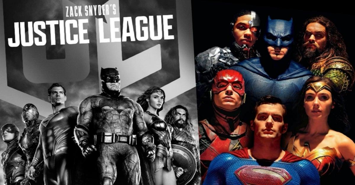 Zack Snyder's Justice League 2021 Justice League 2017