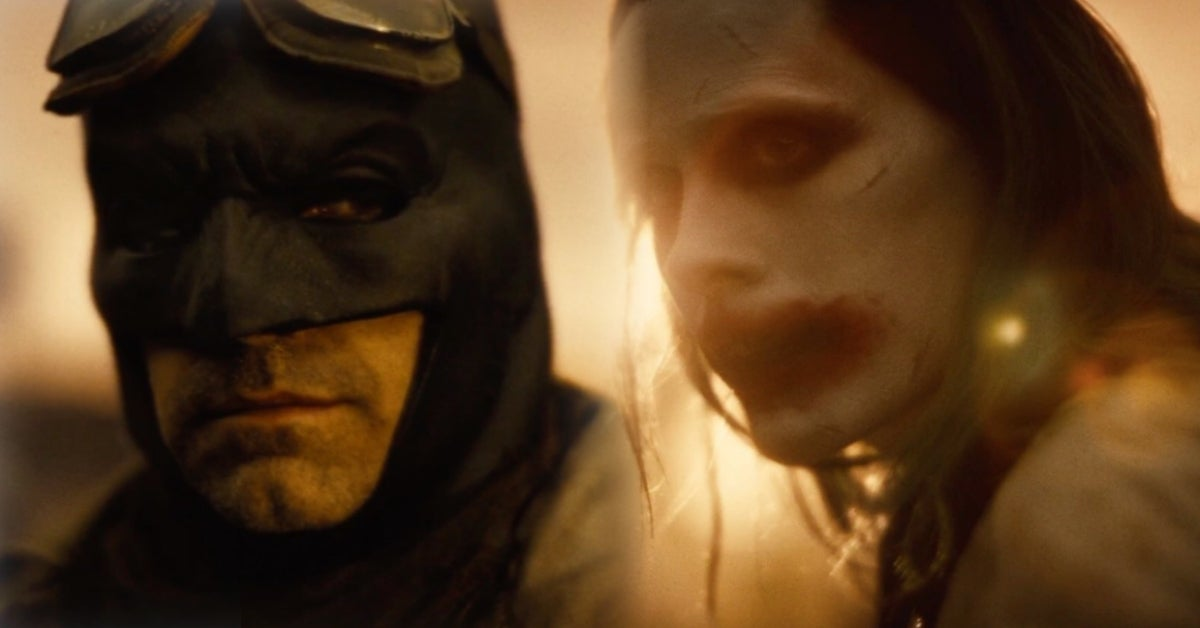 Zack Snyder's Justice League Batman Joker Snyder Cut