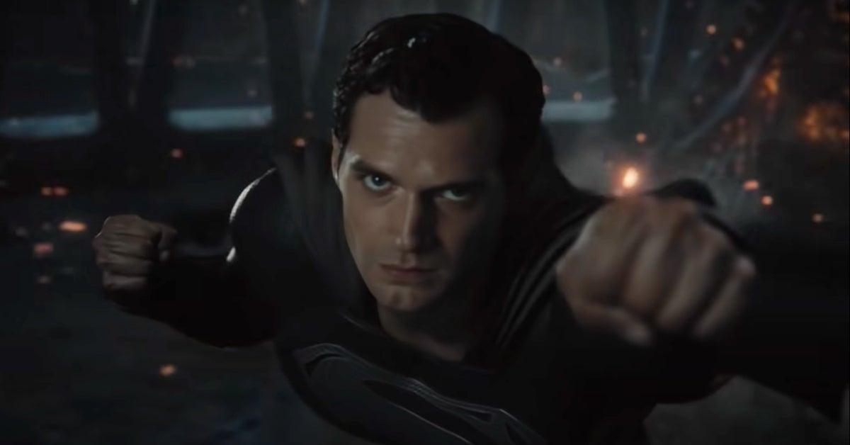 Zack Snyder's Justice League Black Suit Superman