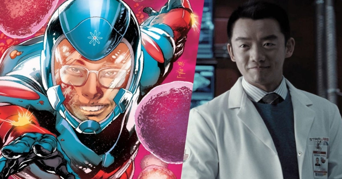 Zack Snyder's Justice League Ryan Choi the Atom