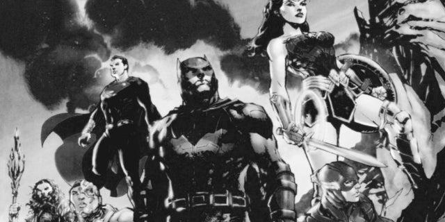 Zack Snyder's Justice League Snyder Cut comic Jim Lee
