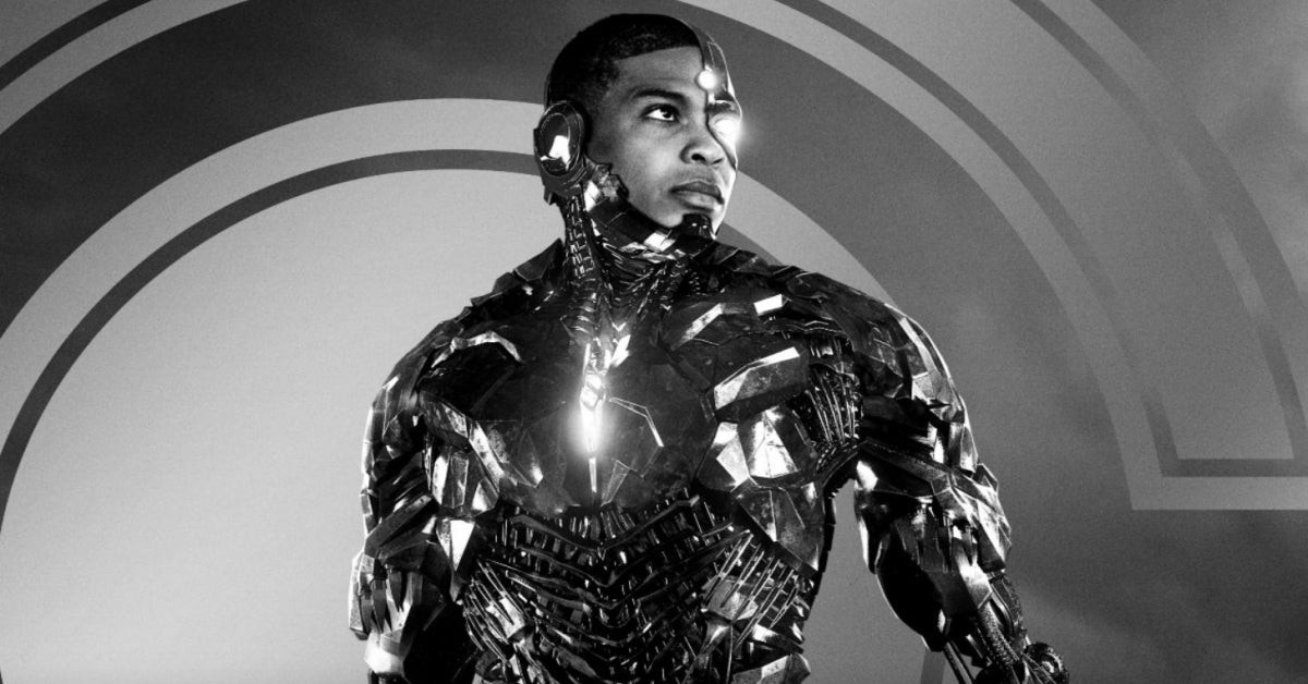 Zack Snyder's Justice League Snyder Cut Cyborg Ray Fisher