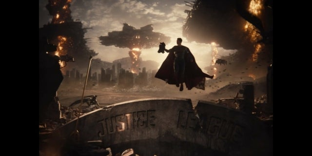 Zack Snyder's Justice League Snyder Cut Knightmare Superman