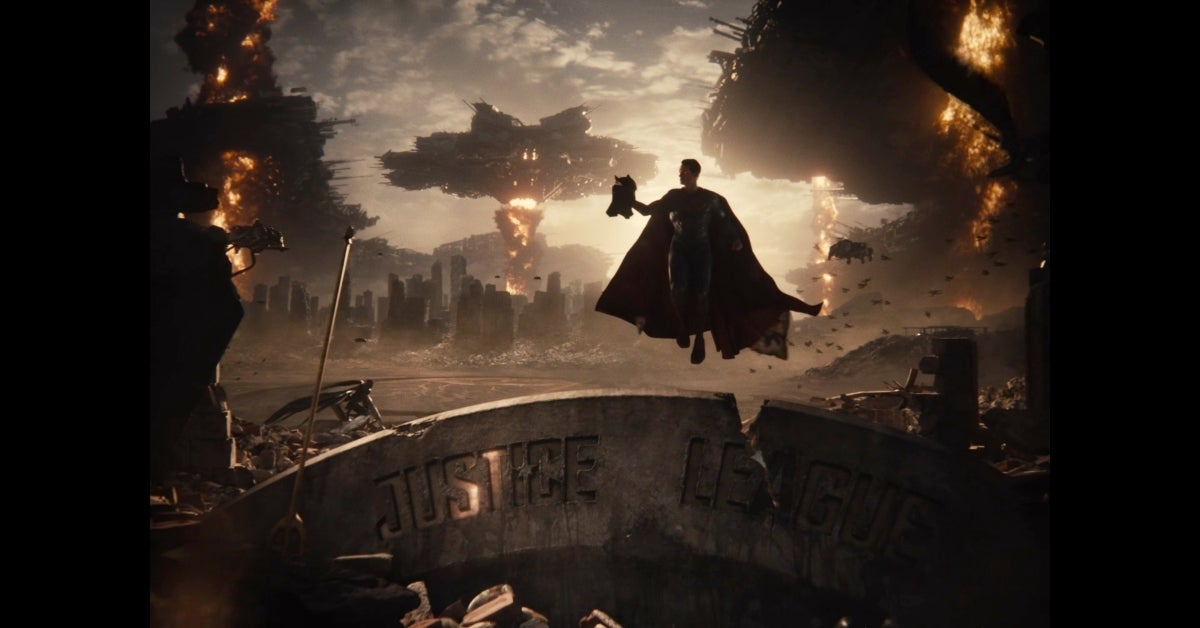 Zack Snyder's Justice League Snyder Cut Knightmare Superman