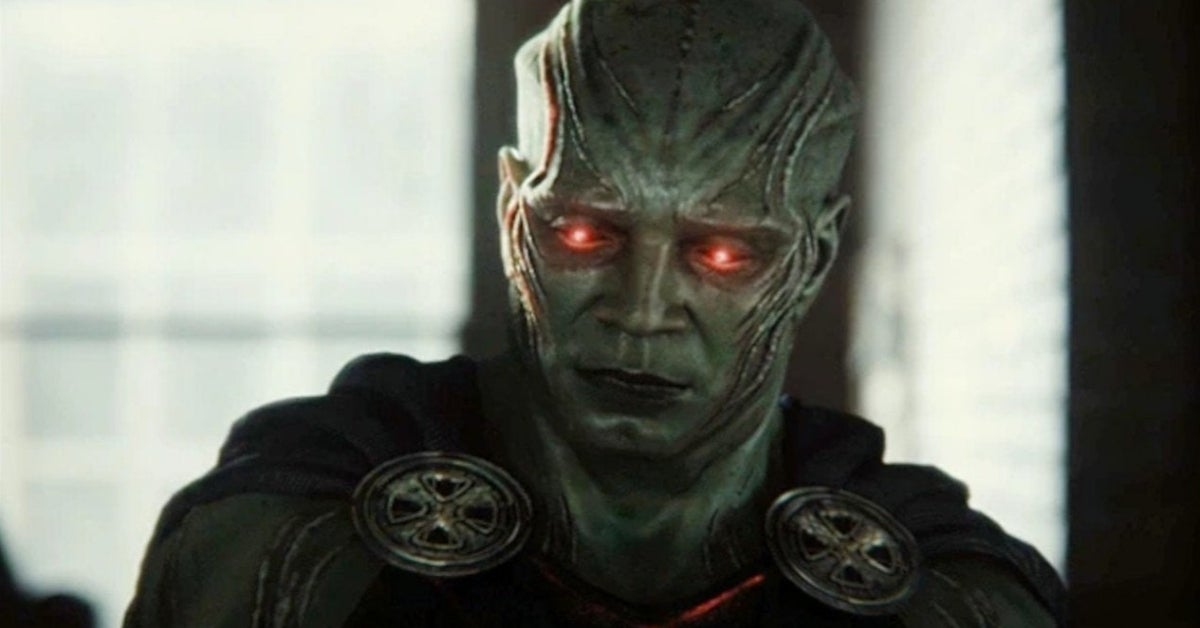 Zack Snyder's Justice League Snyder Cut Martian Manhunter