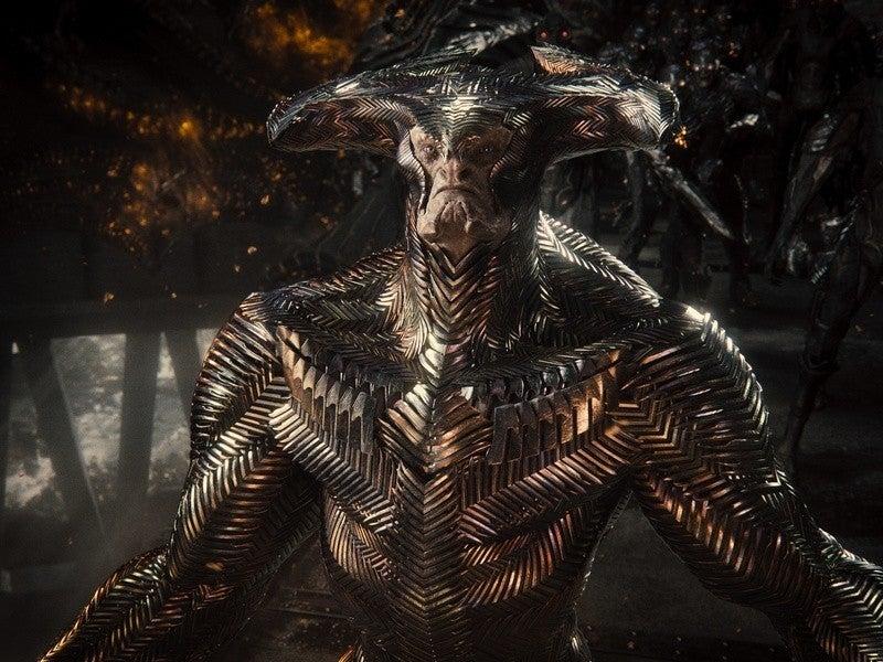 Zack Snyders Justice League Steppenwolf Communes With Darkseid