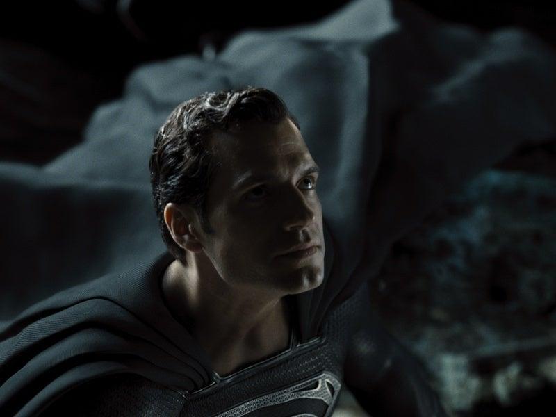 zack snyders justice league superman black suit
