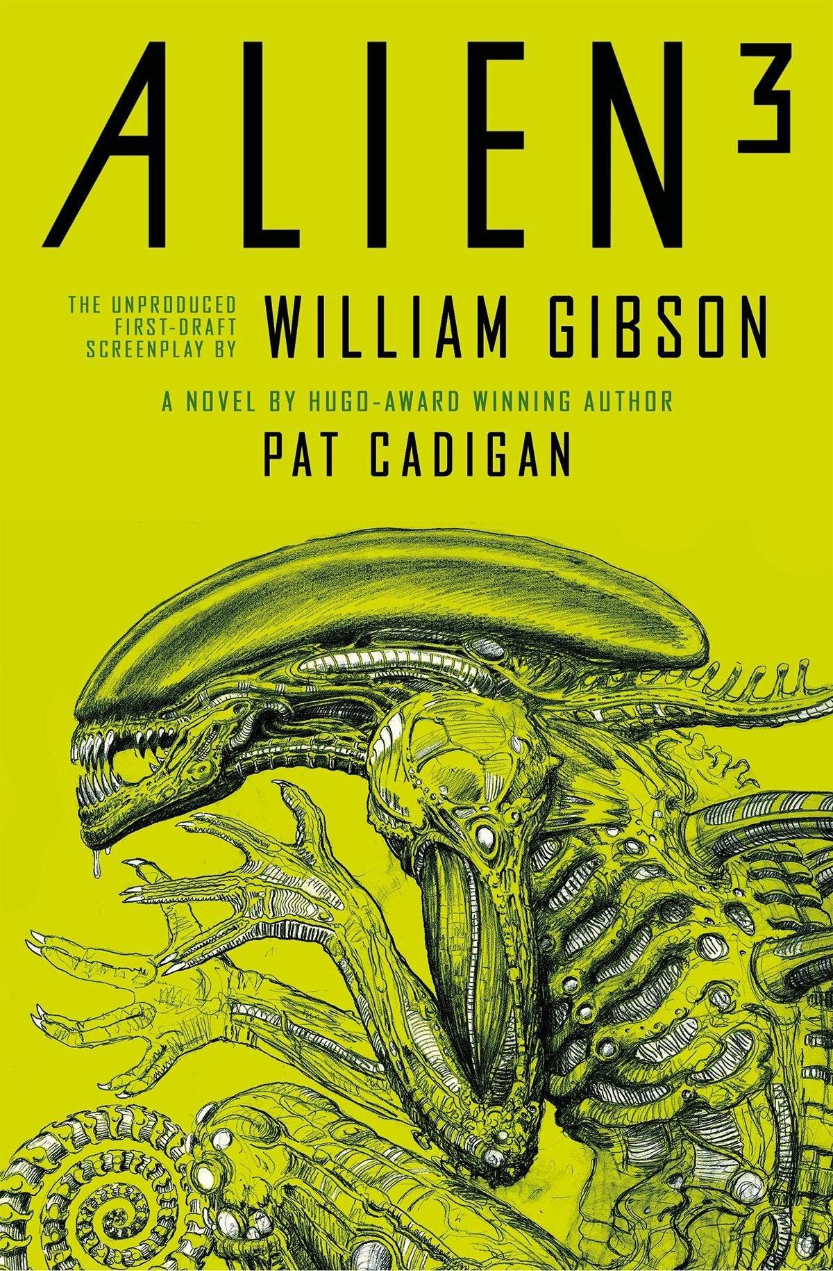 alien 3 book novel cover