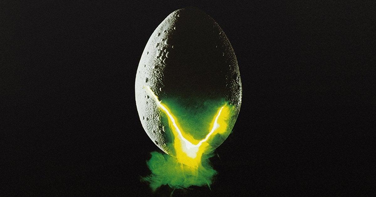 alien movie poster egg