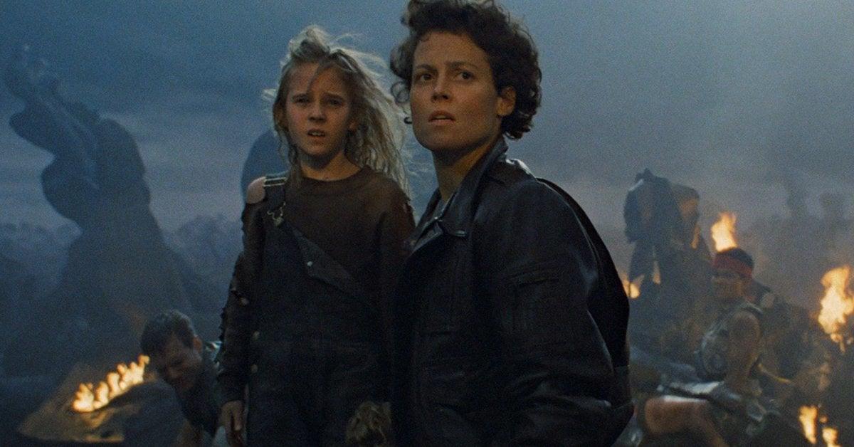 aliens movie ripley newt sigourney weaver