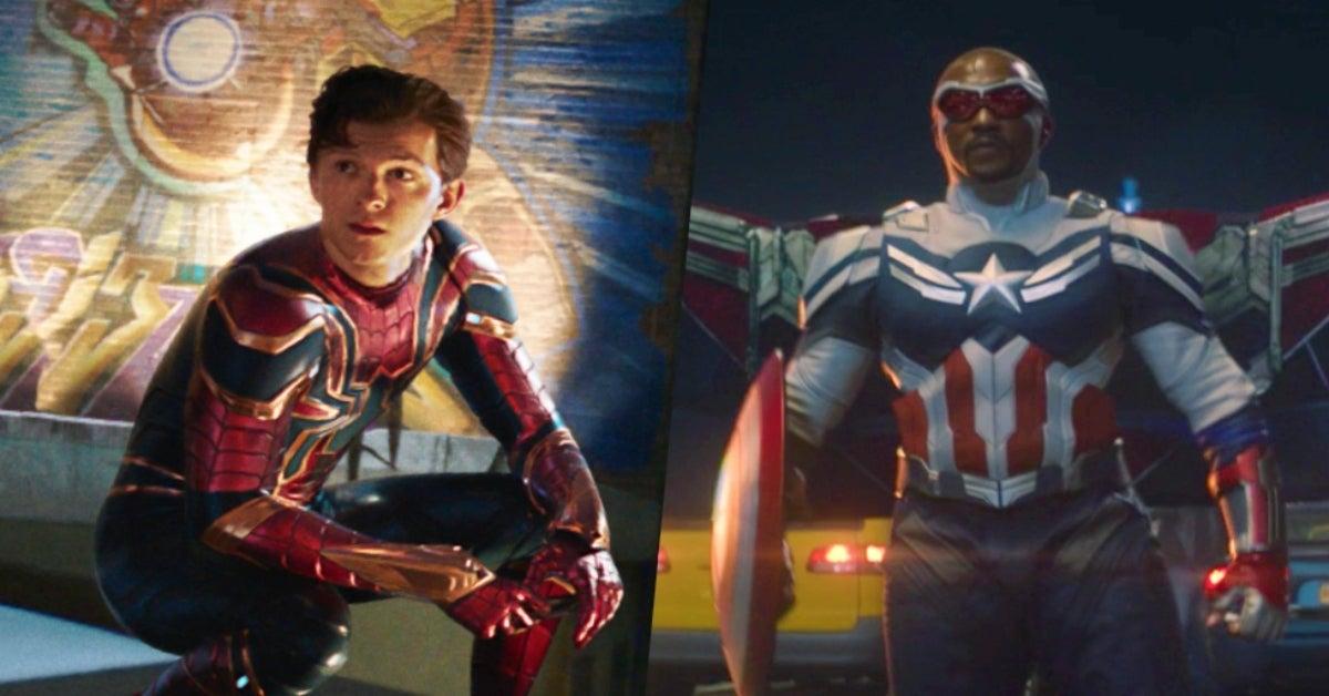 Anthony Mackie Captain America 4 Spider-Man Tom Holland comicbookcom