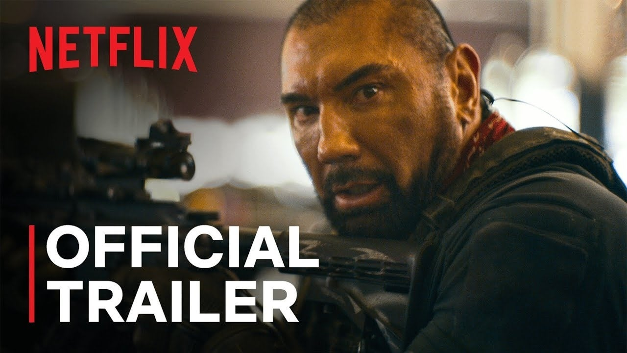 army of the dead trailer netflix
