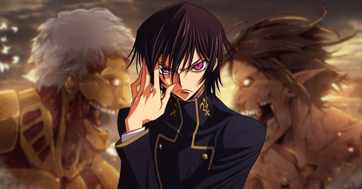 Attack On Titan vs Code Geass Eren Lelouch