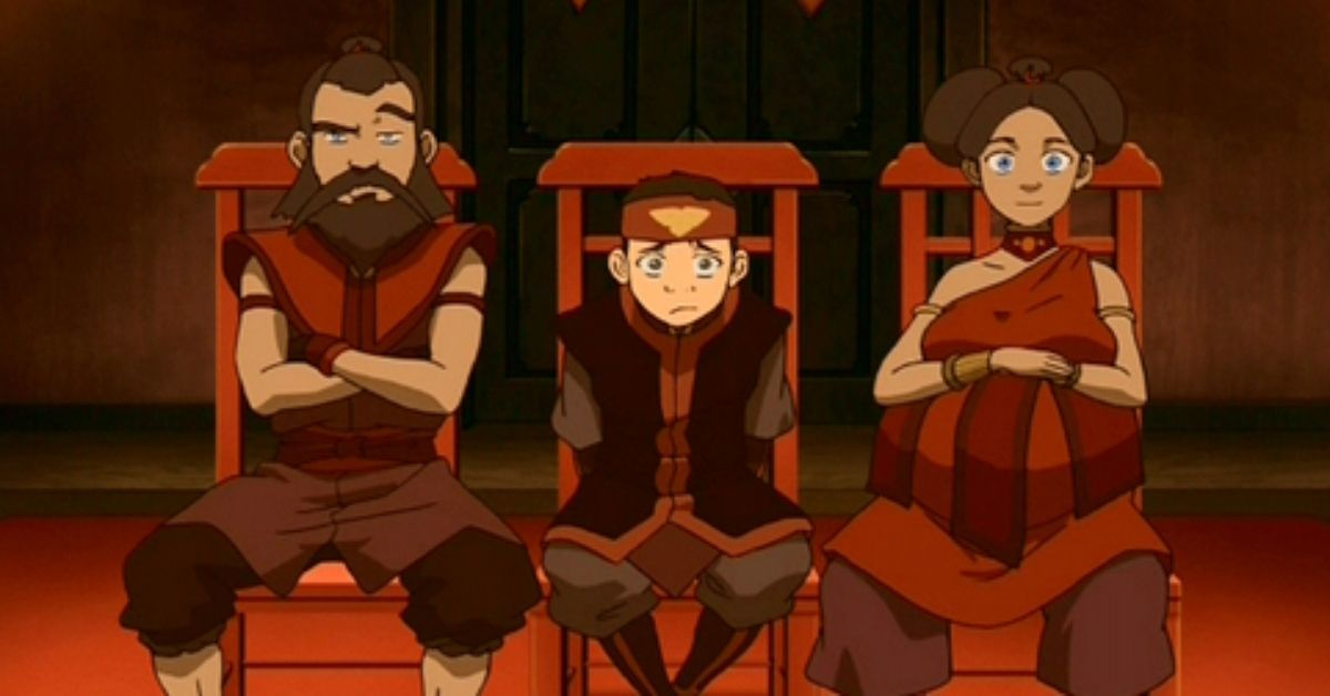 Avatar The Last Airbender Fire Family