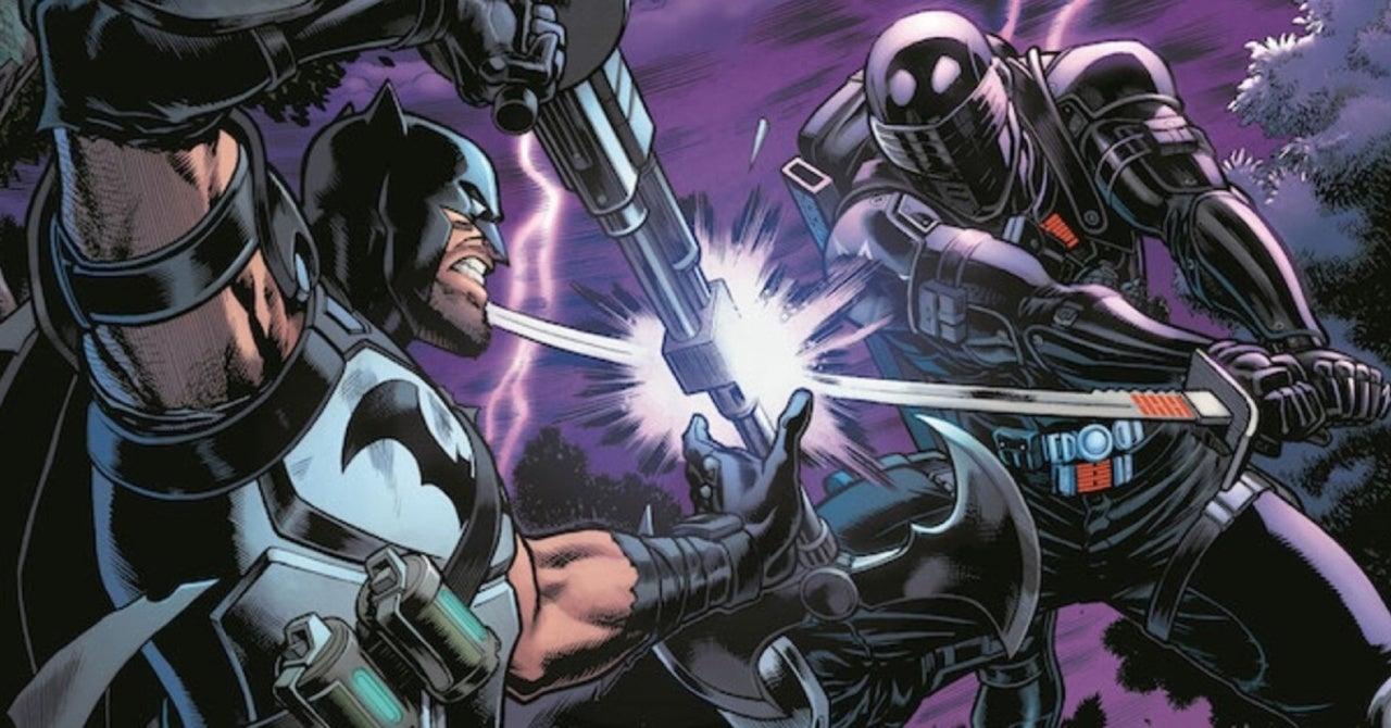 Batman/Fortnite: Zero Point Team Previews Batman and Snake Eyes' Epic Fight