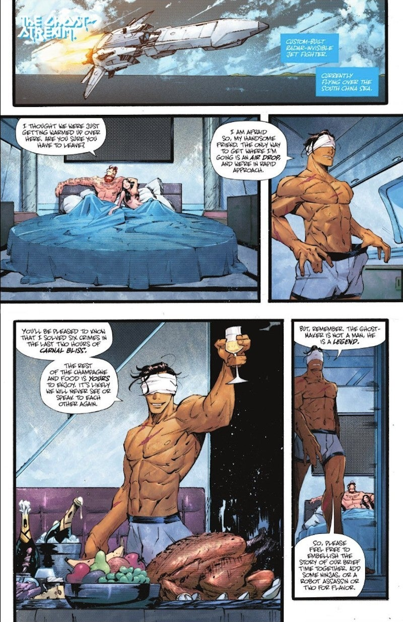 Batman Ghost Maker Bi Pan Sexual LGBTQ 107 Spoilers DC Comics