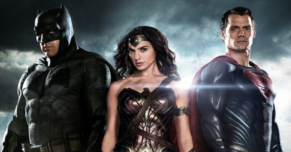 Batman v Superman Dawn of Justice League