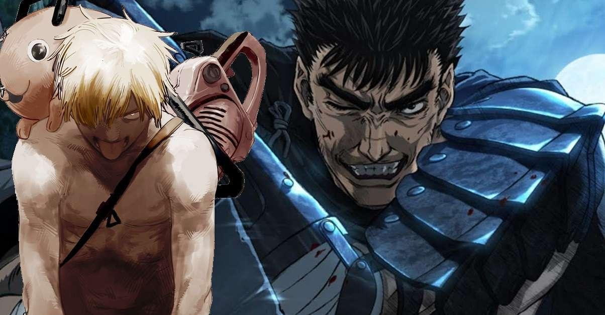 Berserk Chainsaw Man Fusion Art
