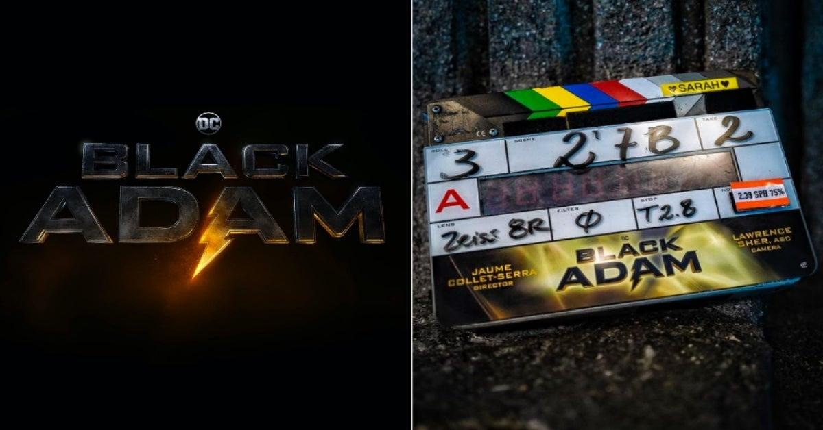 Black Adam movie filming