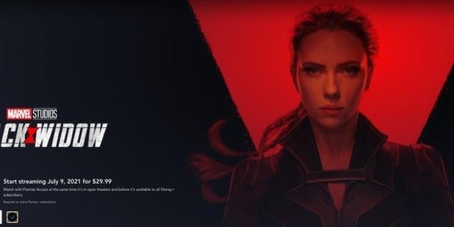 Black Widow Disney+ Premier Access