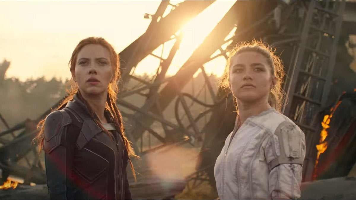 Black Widow Movie Trailer Marvel Fans React