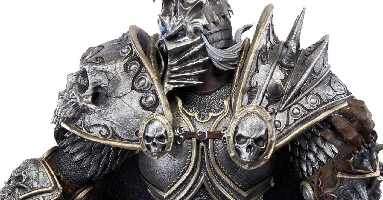 Massive World of Warcraft Lich King Arthas Statue Kicks Off Blizzard From The Vault Series
