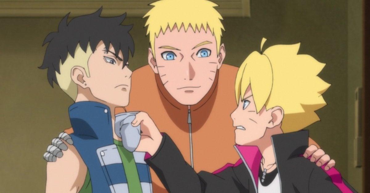 Boruto Naruto Kawaki Bond Anime
