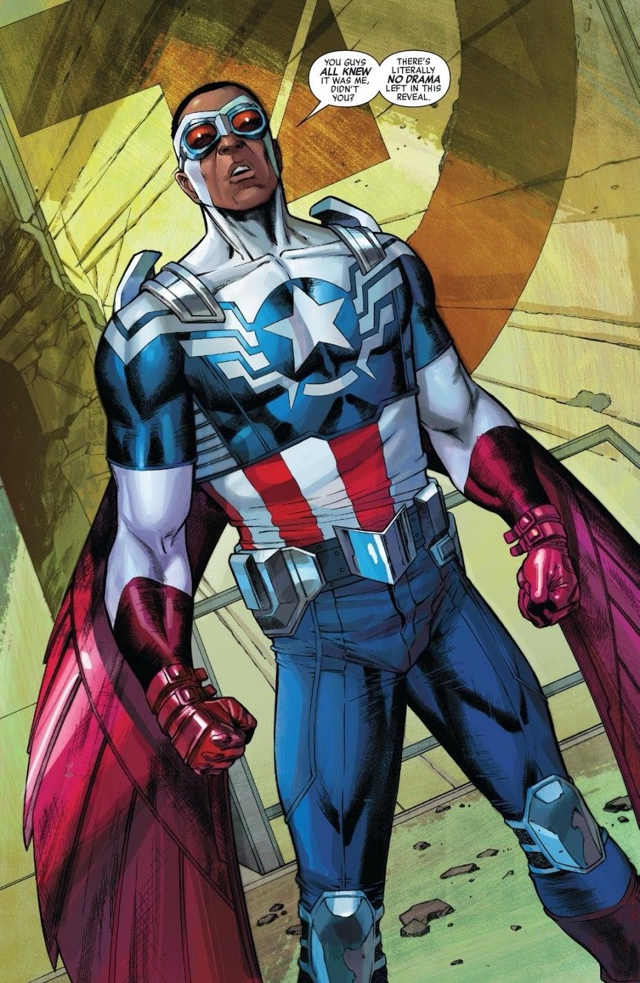 Captain America 25_Sam Wilson Cap