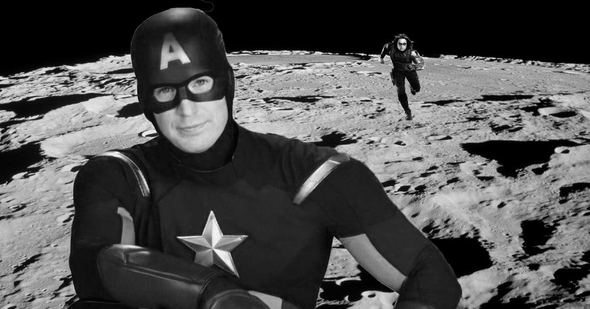 captain america moon