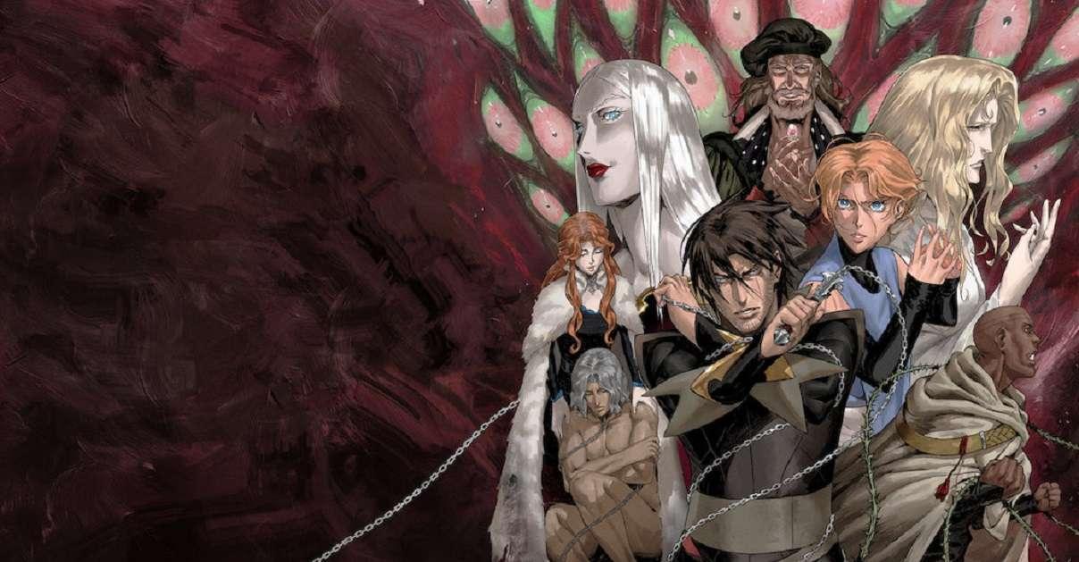 Castlevania Netflix Anime