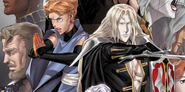 Castlevania Season 4 Netflix Anime Poster