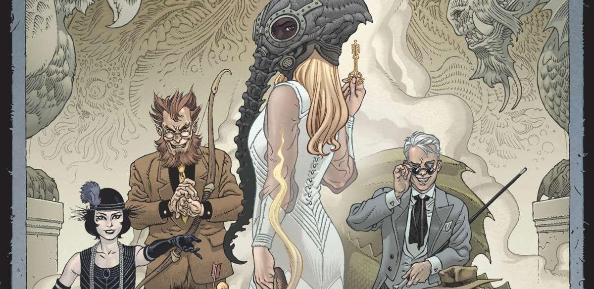 Comic Reviews - Locke & Key Sandman Hell & Gone #1