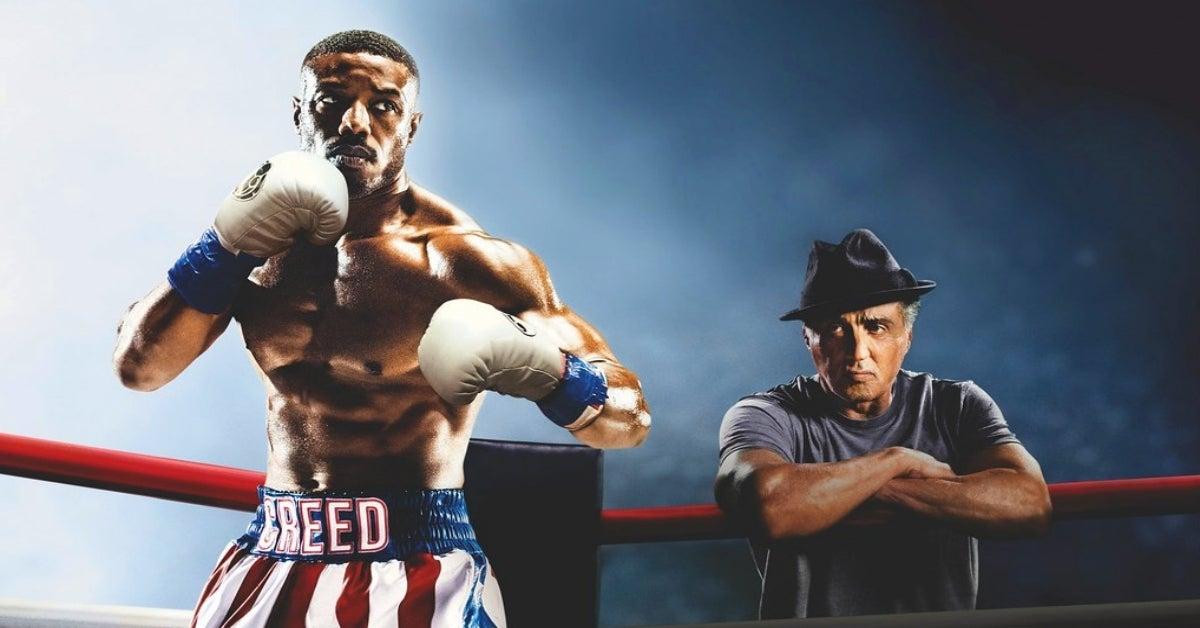Creed Michael B Jordan Rocky Sylvester Stallone