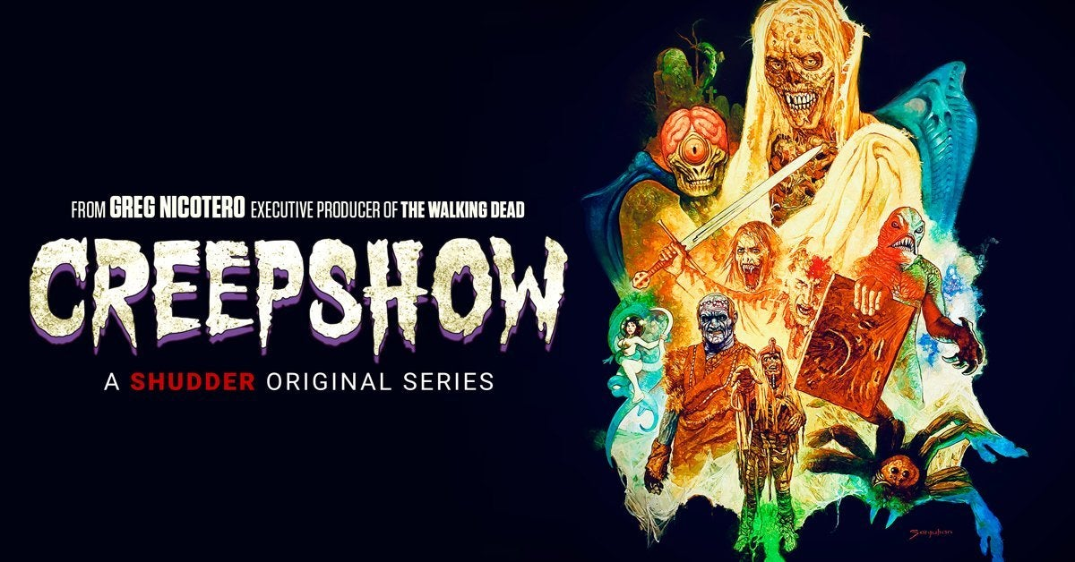 creepshow season 2 finale poster header shudder