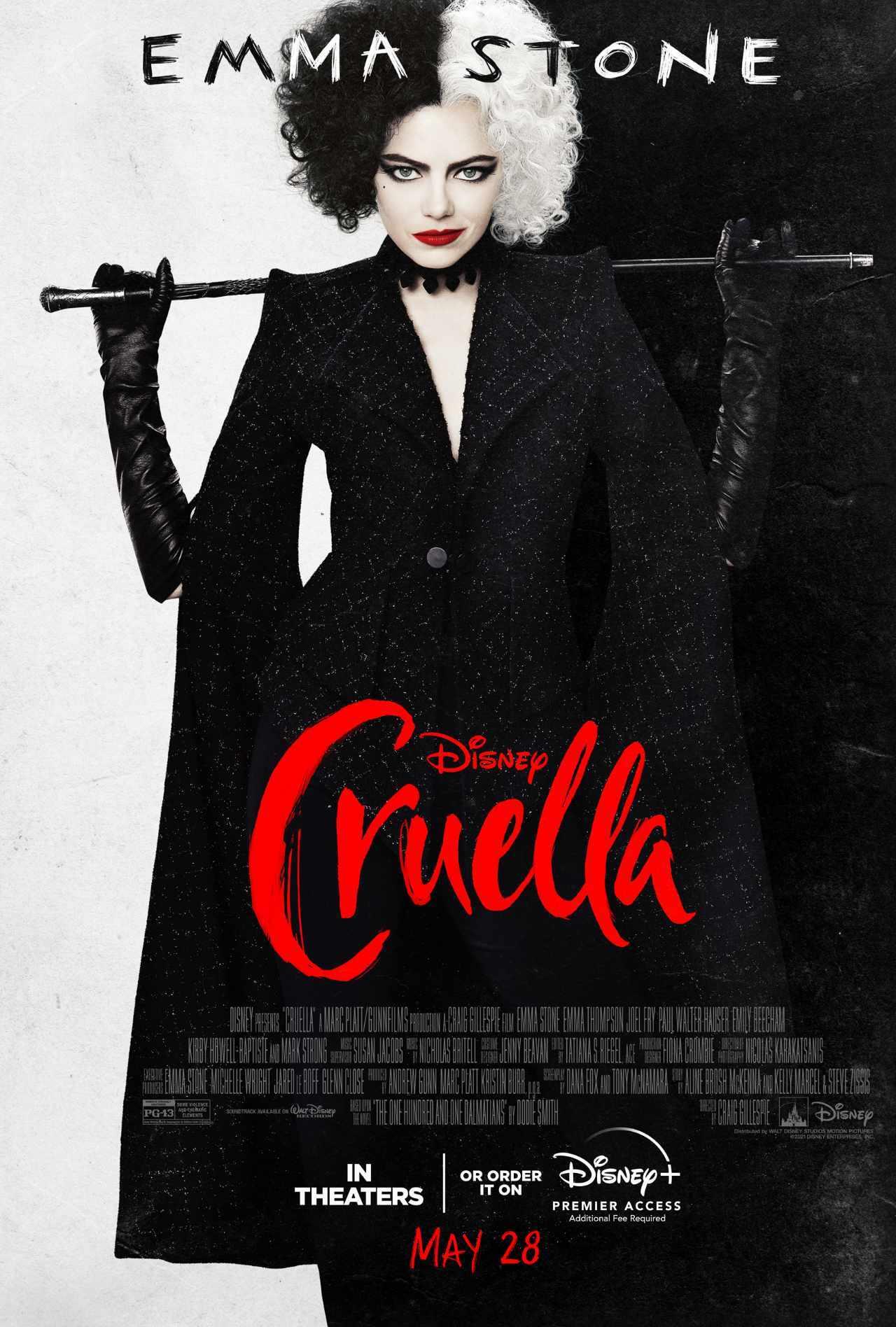 Cruella DIsney Poster