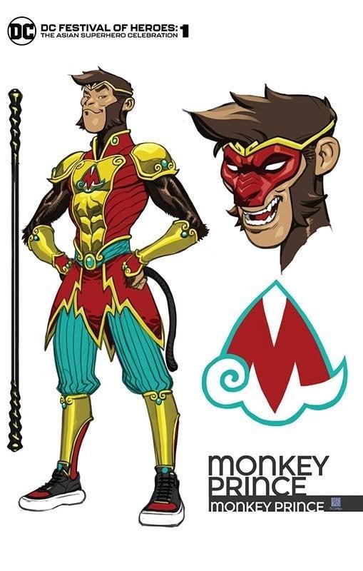 dc comics the monkey prince
