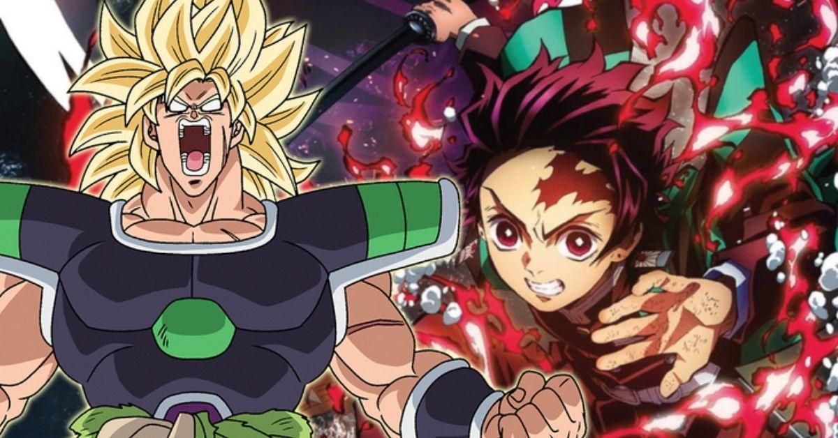 Demon Slayer Mugen Train Movie Dragon Ball Super Broly