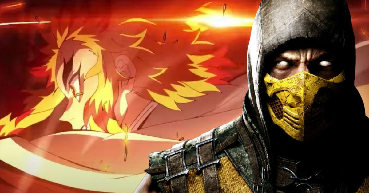 Demon Slayer Mugen Train Movie Mortal Kombat