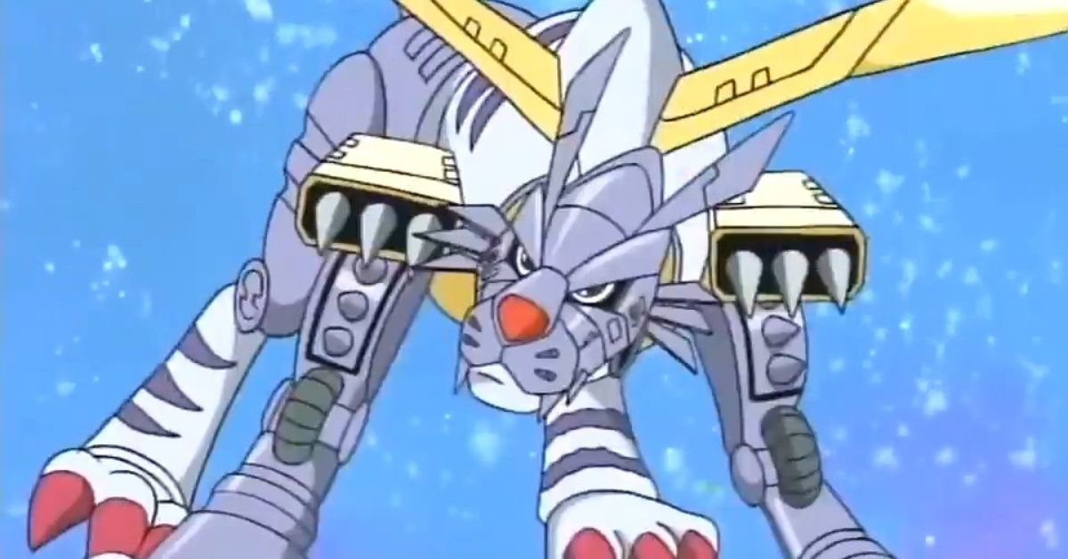 Digimon MetalGarurumon