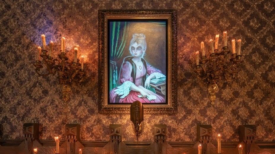 Disneyland Haunted Mansion April to December