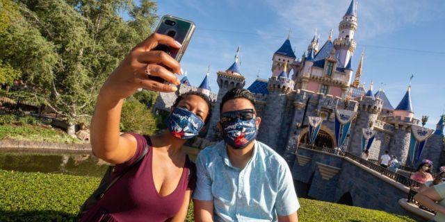 disneyland reopening california
