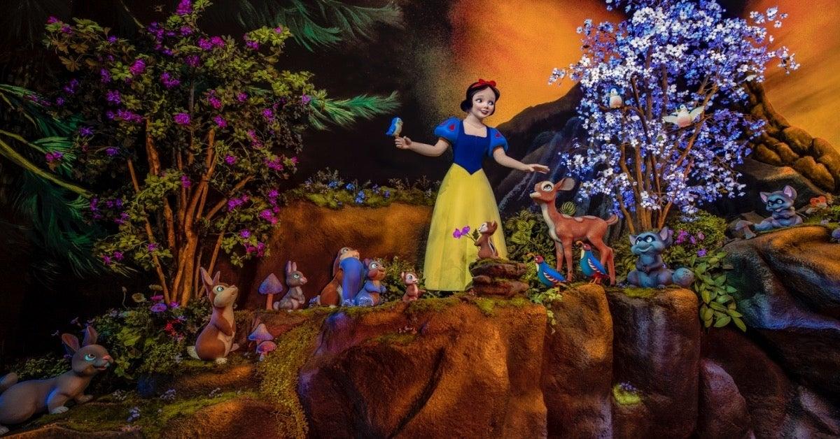Disneyland Snow White's Enchanted Wish