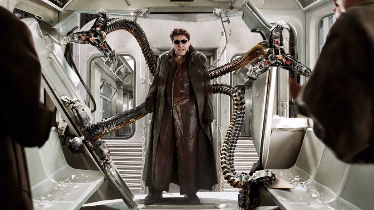 doctor octopus spider man 2