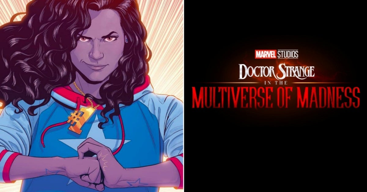 Doctor Strange in the Multiverse of Madness America Chavez