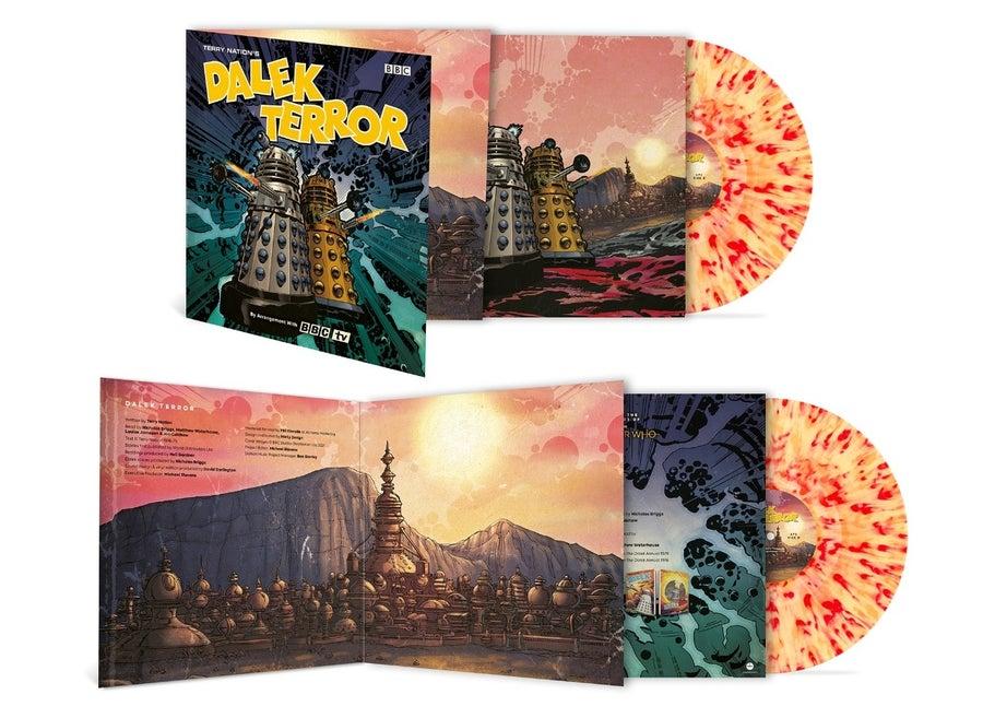 doctor who dalek terror vinyl 2