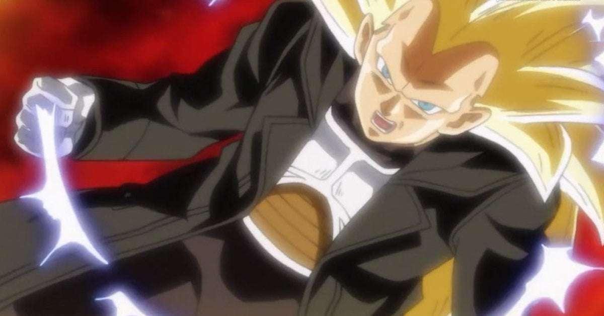 Dragon Ball Heroes Vegeta